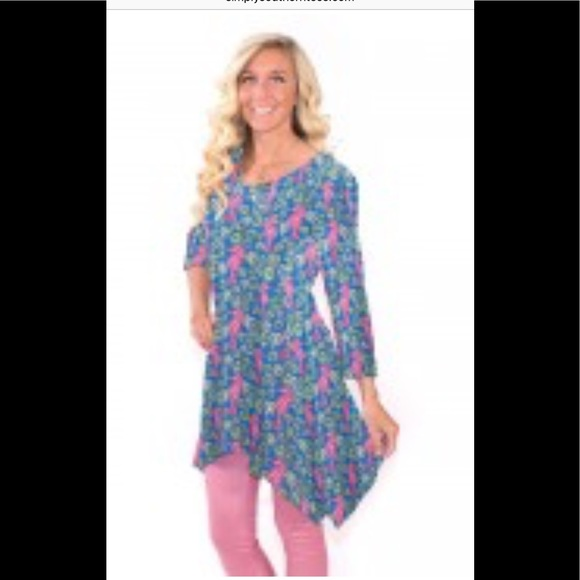 05be391f489 Simply Southern Tops | Seahorse Tunic Size Large | Poshmark